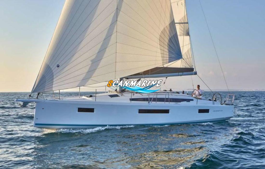 Парусная яхта Sun Odyssey 410 — премьера бот-шоу в Каннах
