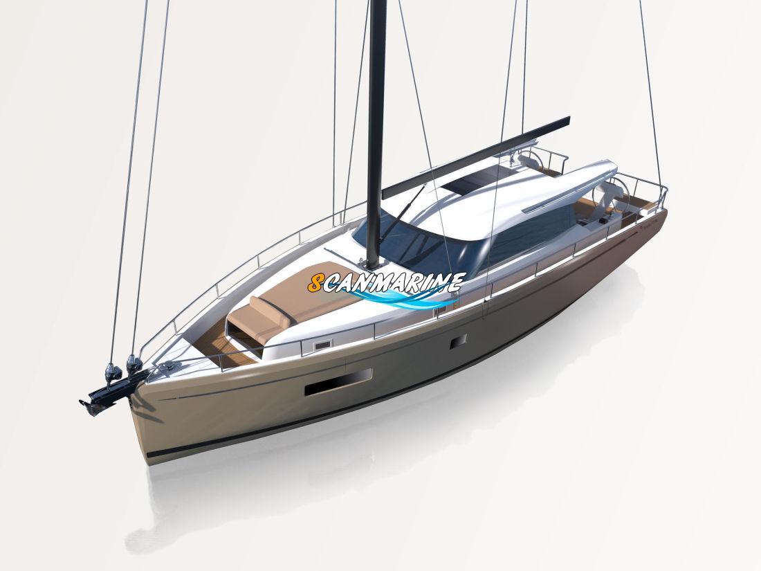 Парусная яхта Moody Decksaloon (DS41) — проект 2019 года