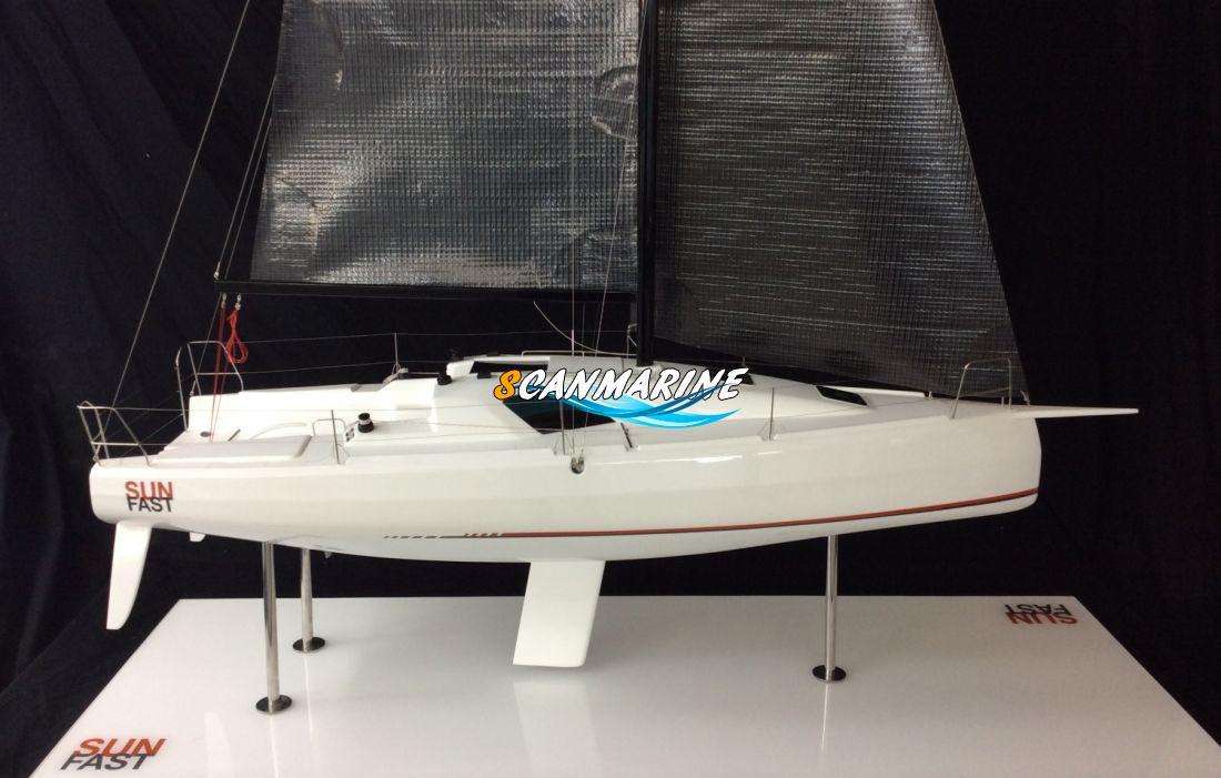 Проект новой парусной яхты Sunfast 3300 на бот-шоу в Париже