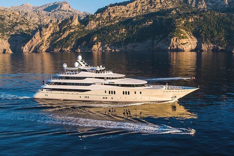 Супер-яхта Eminence сменила спустя 11 лет владельца